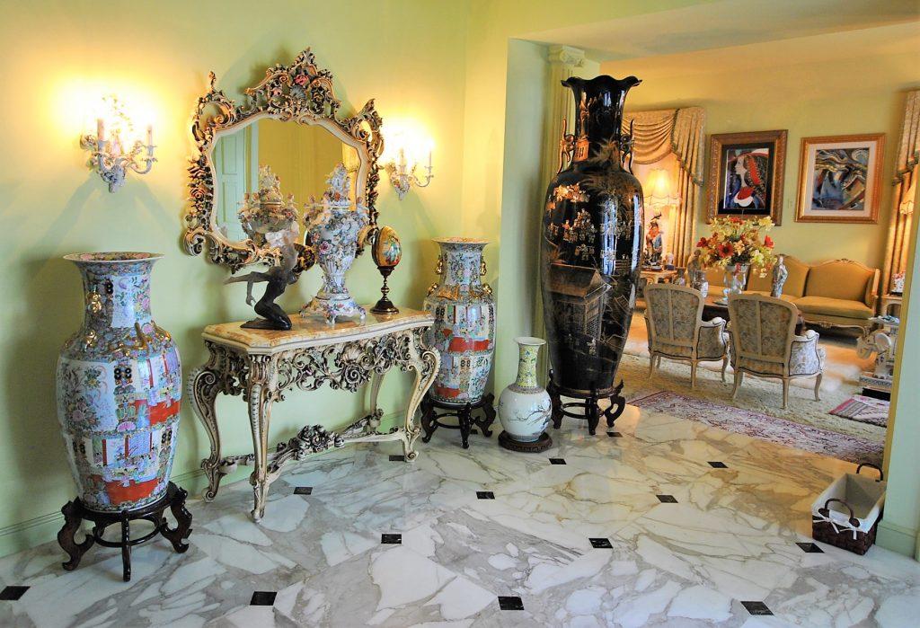 Desk & Vases Available at Estate Sale in Fort Lauderdale