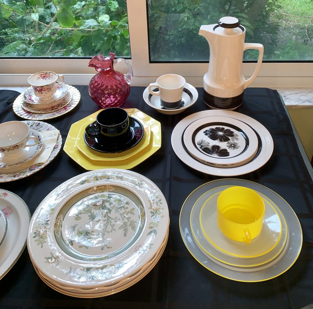 Complete Plate Set Available at Estate Sale in Fort Lauderdale